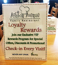 Dining Loyalty Rewards