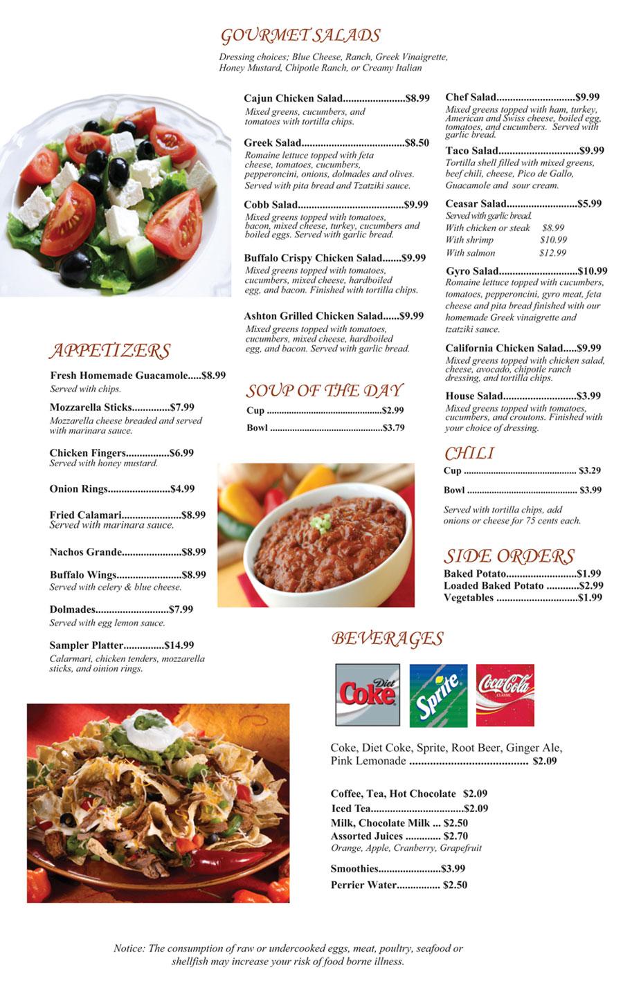 Family Restaurant Menu Manas Daily Specials Affordable Dining